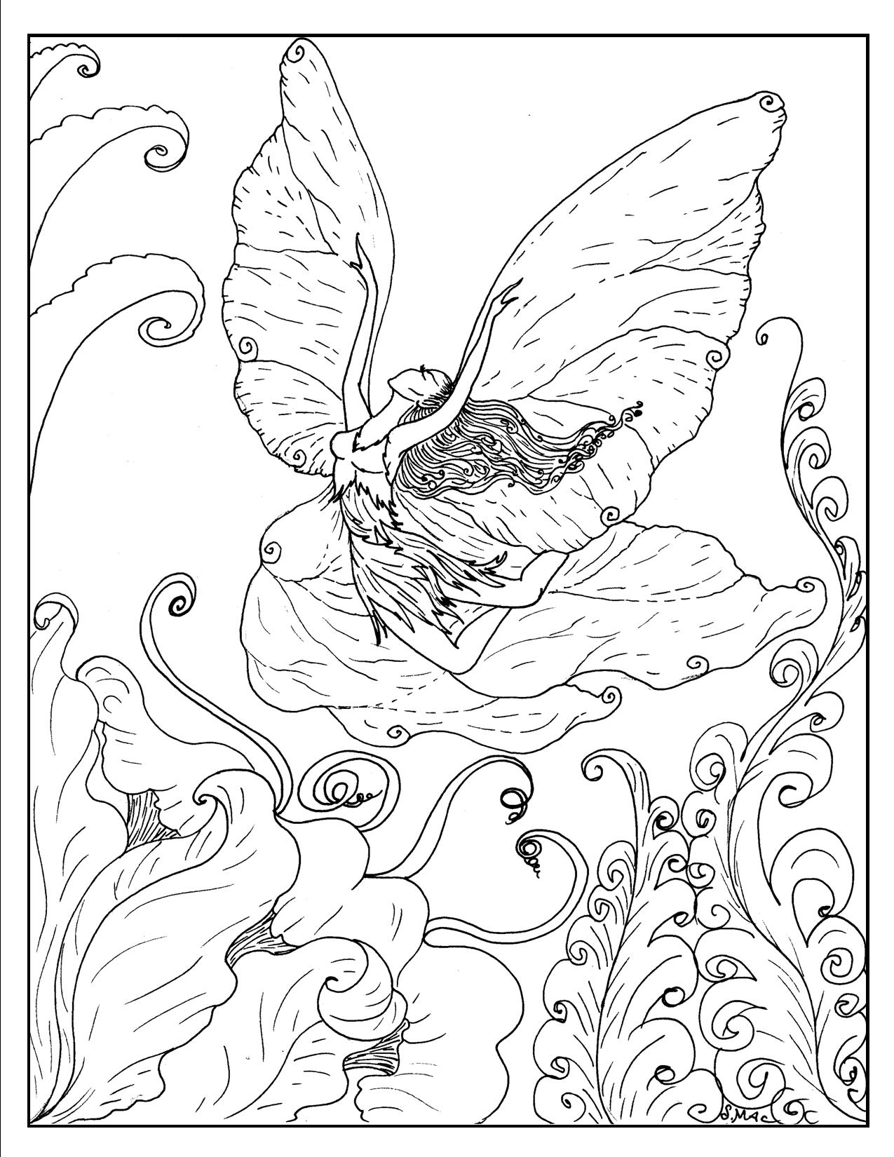Free Adult Coloring Pages – S.Mac's Place To Be
