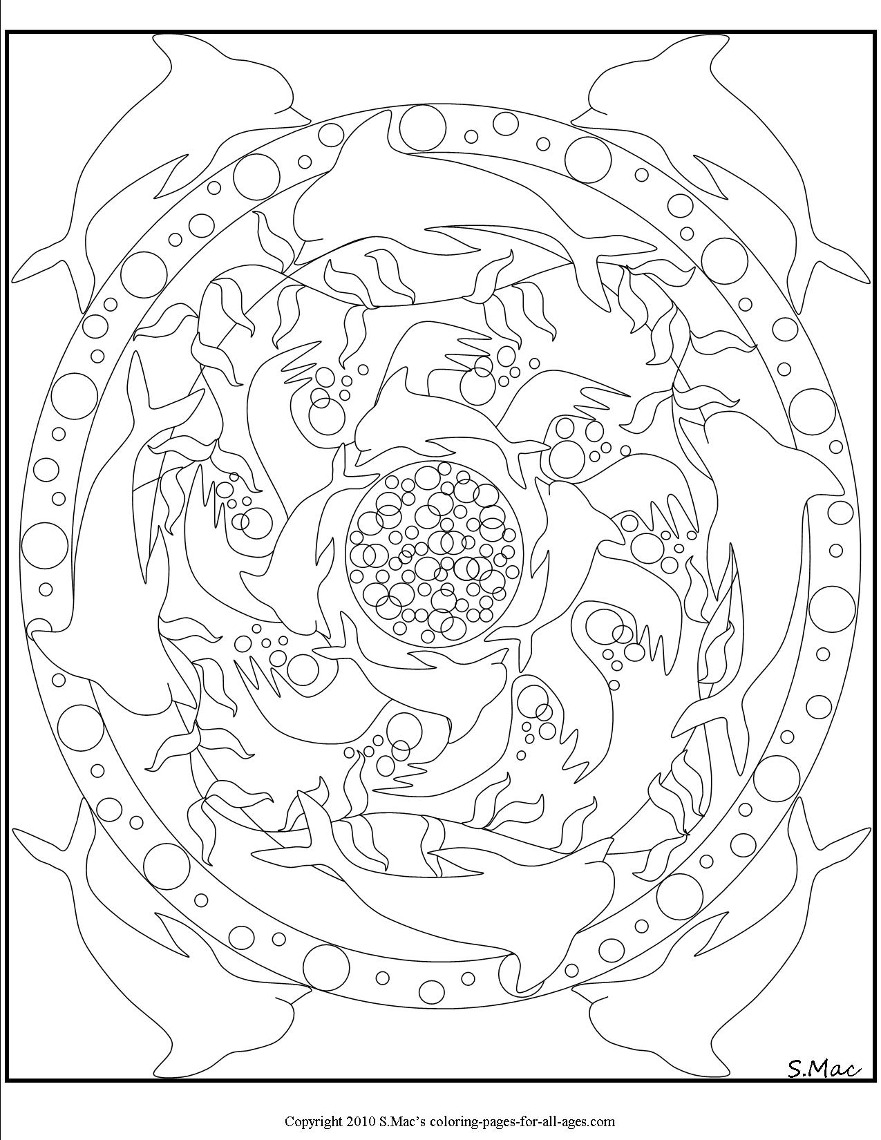 Mandala Coloring Pages S Mac S Place To Be
