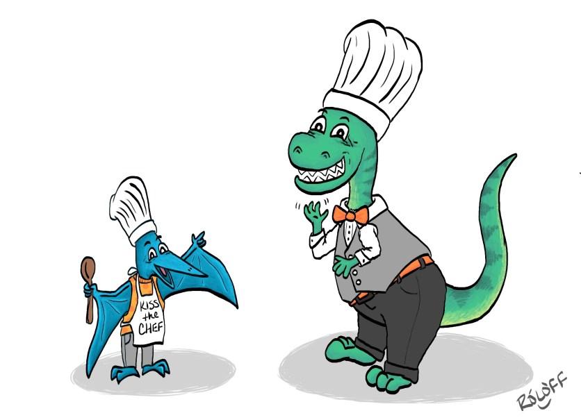 Dino Chefs by Sheri Roloff