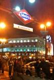'Vodafone' Puerta del Sol metrohalte