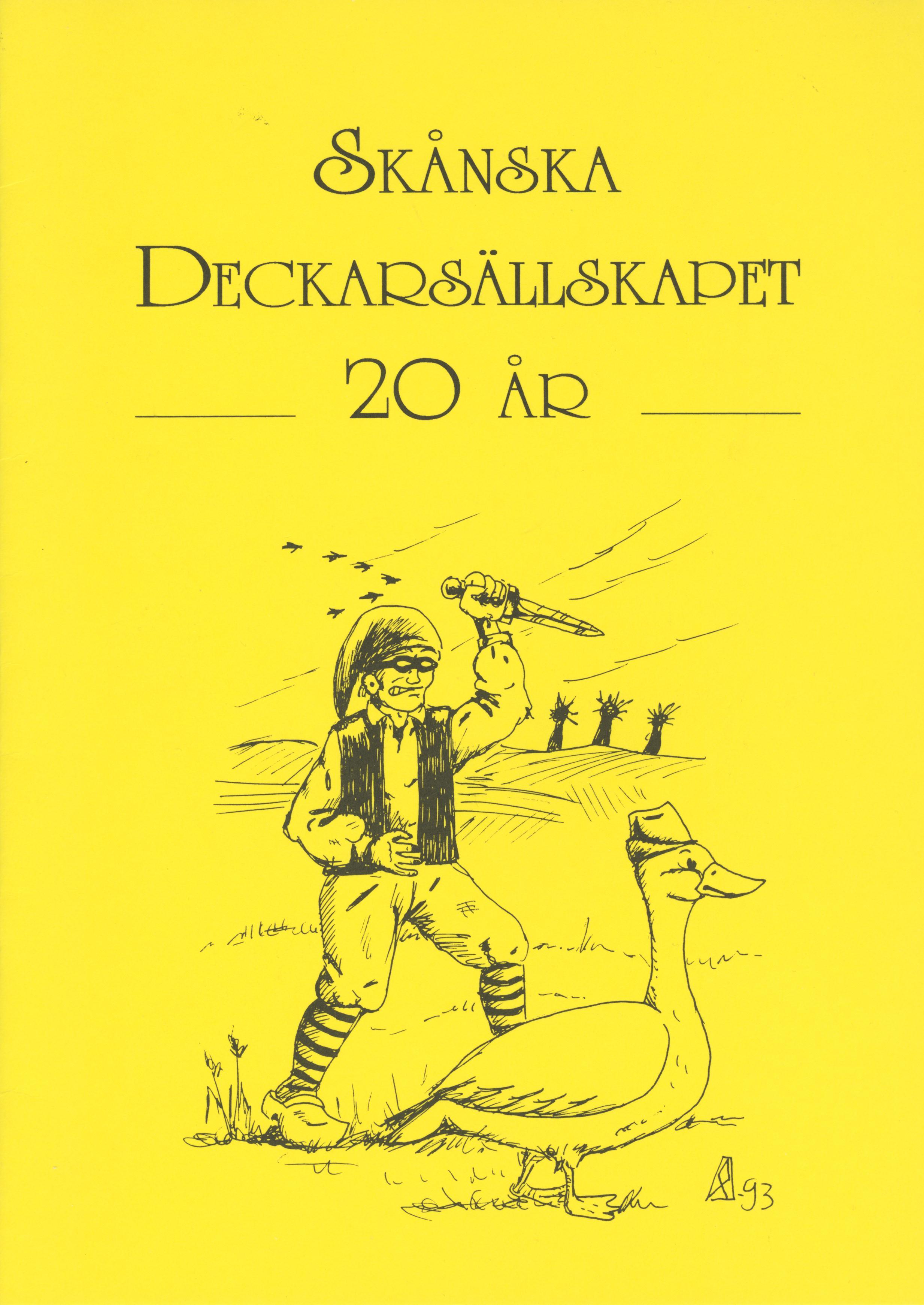 Skånska Deckarsällskapet 20 år
