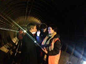 Filming moves underground for The Empty Hearse
