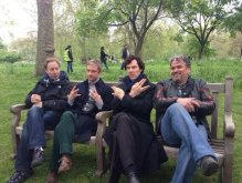 Benedict Cumberbench and friends