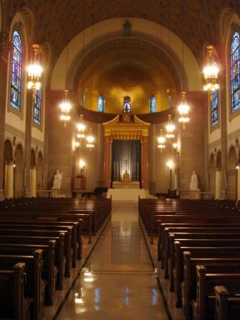 Memorial Chapel, Holy Cross