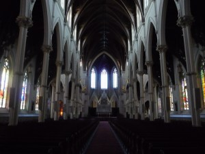 Main Aisle and Sanctuary