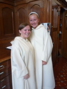 Altar Servers ready for the moment