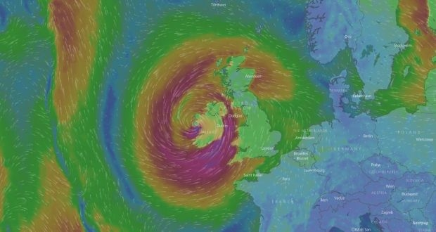 Awaiting Ophelia