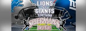 Lions vs. Giants