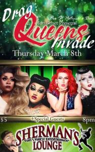 Drag Queens Invade @ Sherman's Lounge   Flint   Michigan   United States
