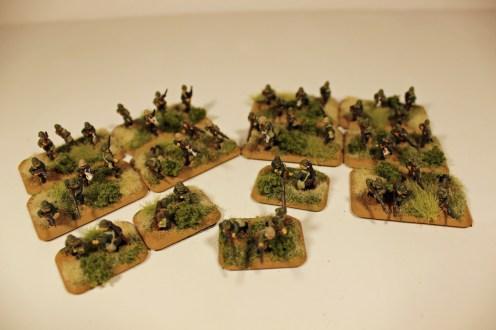 Japanese SNLF Platoon
