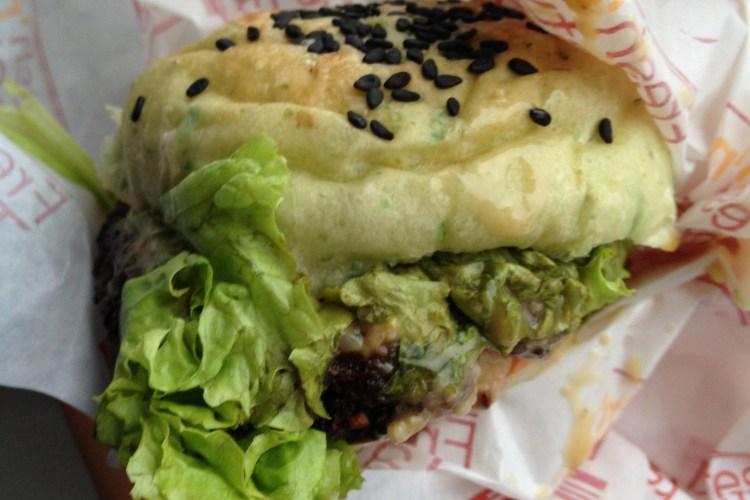 Greenzilla: Vegetarian with a vengeance