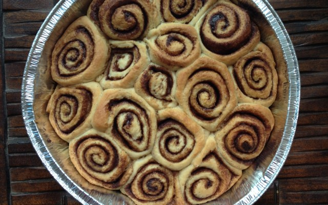 RECIPE: No-Knead (to worry) Cinnamon Rolls