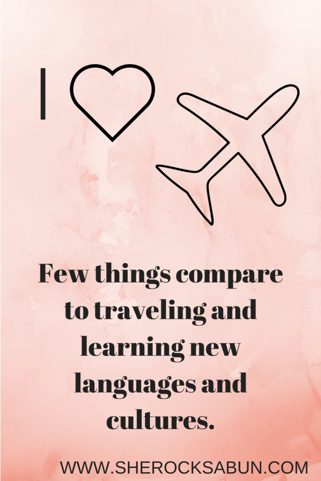 My lingual journey and why the right attitude makes all the difference. Learning new languages and traveling the world as an obsession. #languages #traveling
