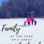 She rocks a bun: Family at the core of a great support network #family #parenting #supportnetwork