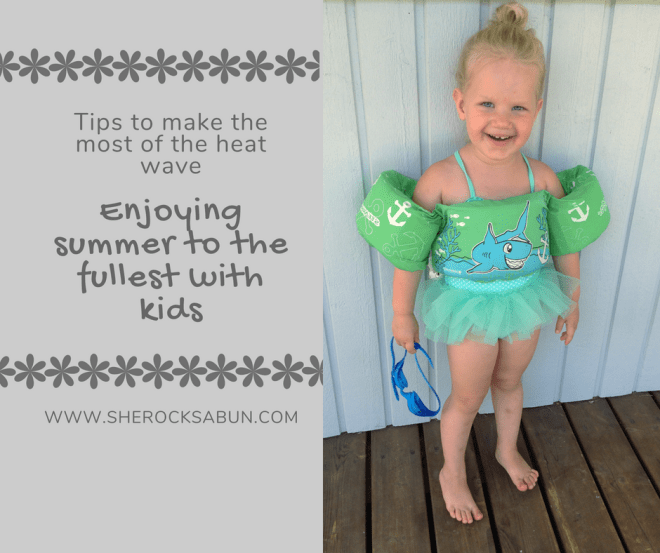 Summer is by far my favorite time of year. People are generally a lot more positive and happy when it's summer, and the sun is such a great mood booster! #familysummerfun #tips #momlife #parenting