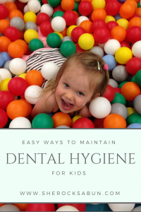 Easy ways to maintain and teach dental hygiene for kids!