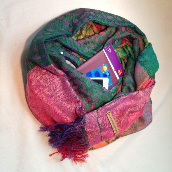 Pocket scarves