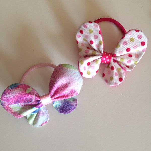 Butterfly bows handmade in Finland by sherocksabun