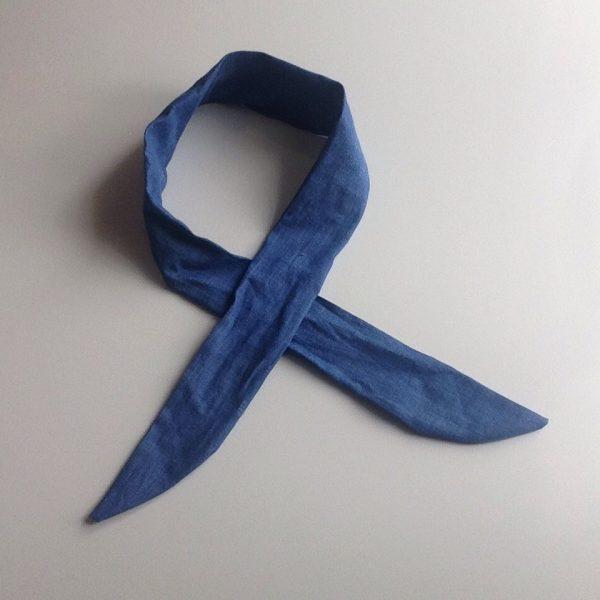 Cooling scarf jeans blue by sherocksabun