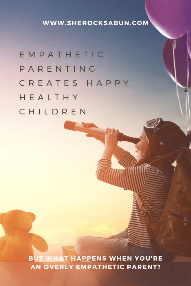 Children of empathetic parents are happy. Sherocksabun