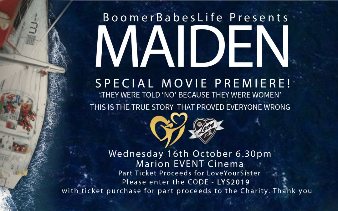 Travel Podcast | Jaynie Morris Announcing World Premiere Sailing Movie – MAIDEN Tuesday 1st October