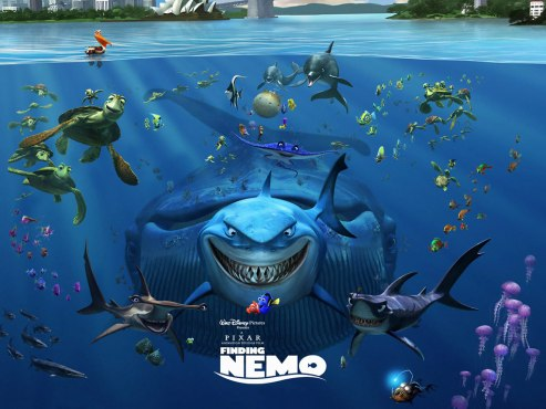 """Finding Nemo"" movie poster"