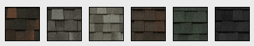 Landmark Pro Roofing Shingles Samples