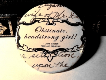 Jane Austen, obstinate headstrong girl