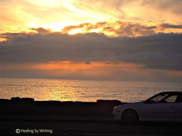 Sunset at Depoe Bay