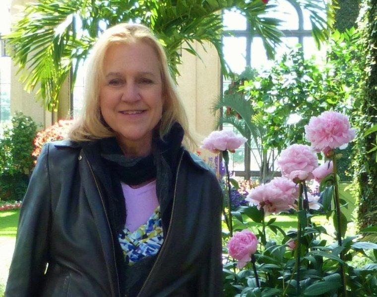 Susan at Longwood