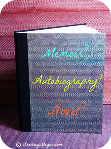 Via Flickr; with permission to make changes (title possibilities added to blank book cover)