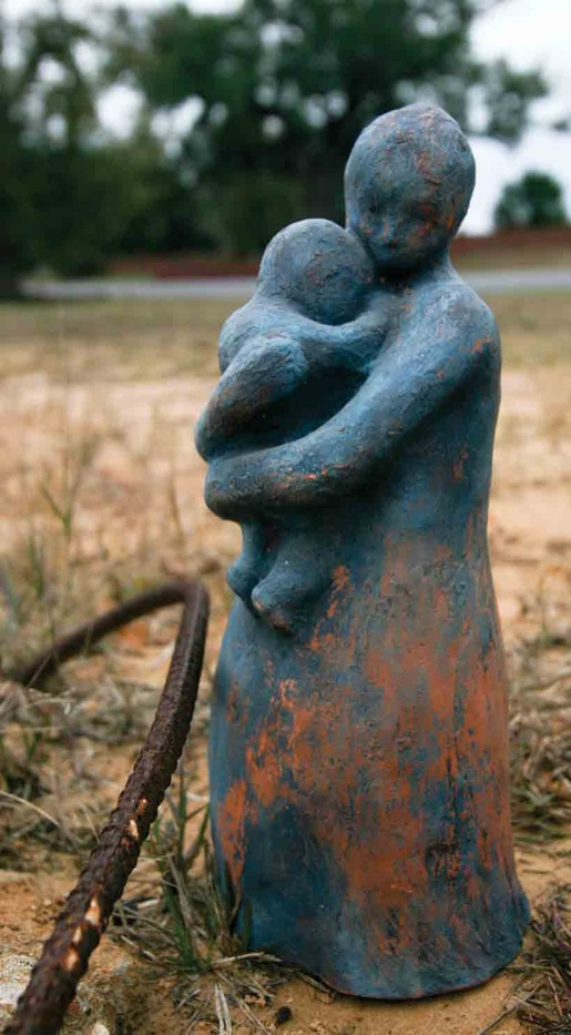 Julie Freed found in rubble left by Hurricane Katrina
