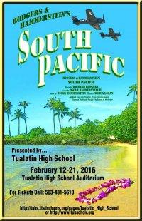 Program from Tualatin High School 2016 Production
