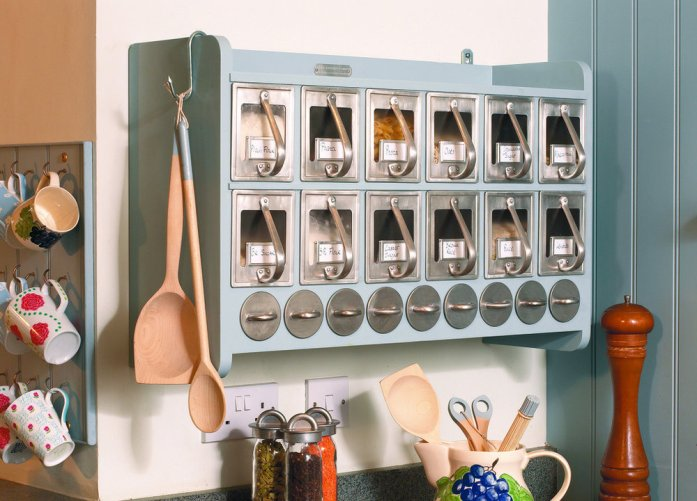 Storage of kitchen utensils