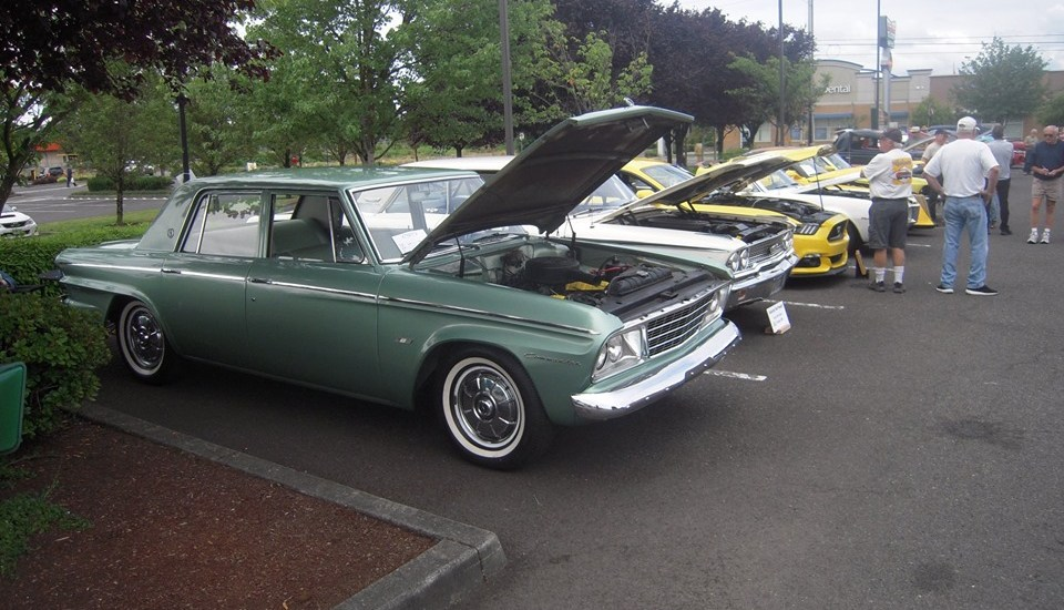 Studebaker Commodore 1964, car guys, cruise-ins