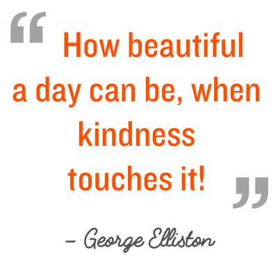 kindness, quotation, cabin fever