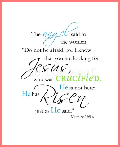 Easter, Resurrection, He is Risen