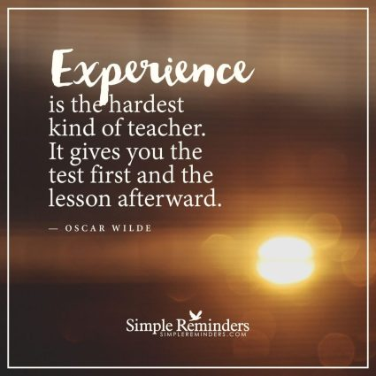 experience, quote, Oscar Wilde