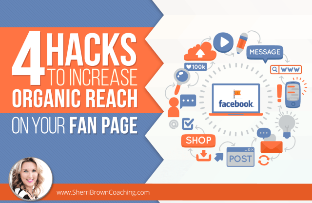 increase organic reach on your fan page