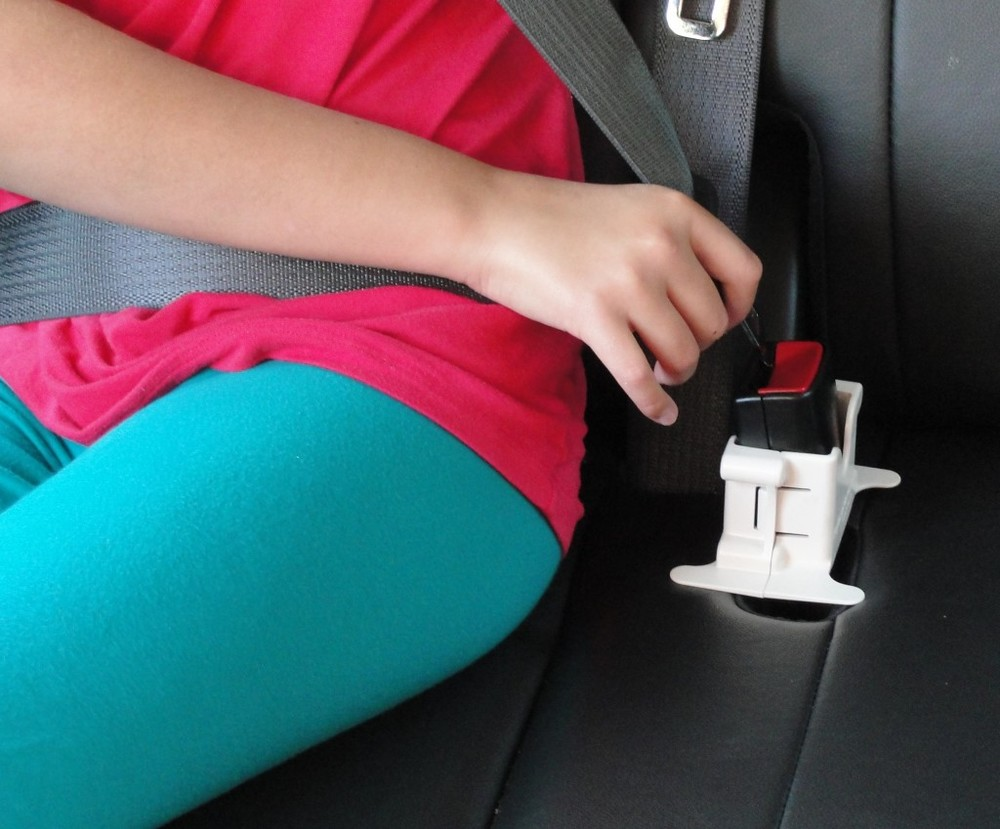 This is a picture of a teen buckling her seatbelt like before an adoption reunion. She must be aware of possible rejection and this post prepares a searching person for that.