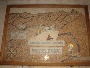 ancient mosaic map