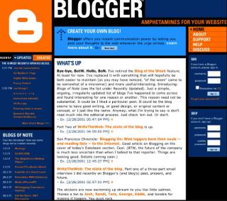 2006 blogging