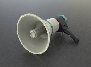 megaphone voice messaging