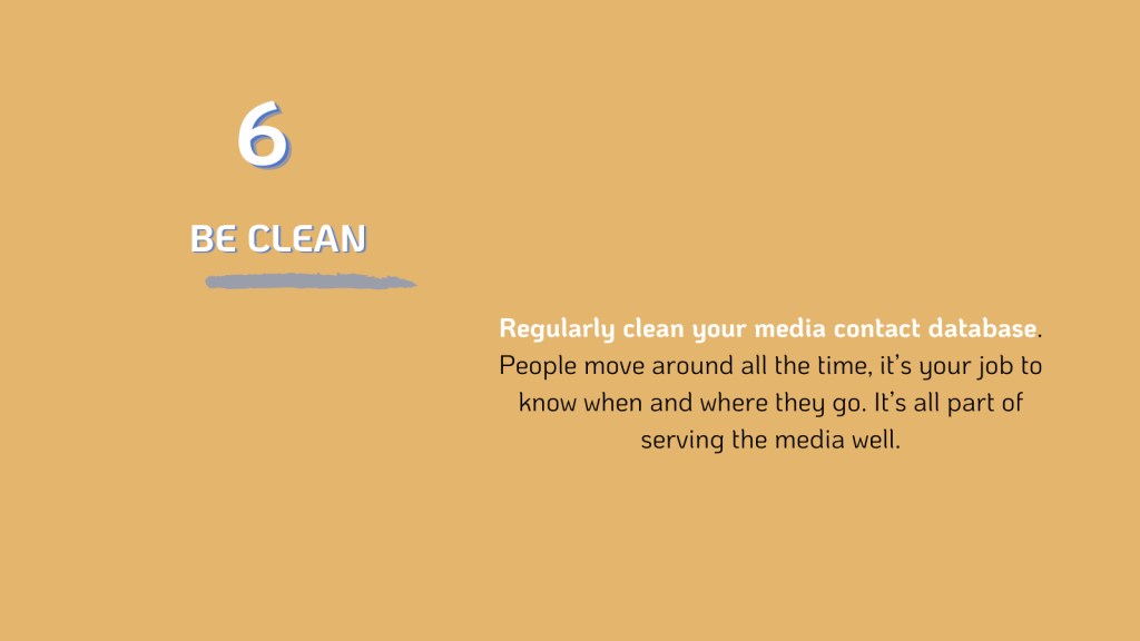 PR: Clean your database
