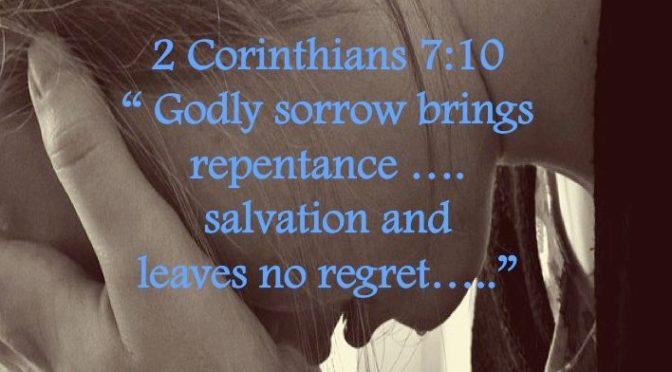 Week #12 Wisdom Builder 2 Corinthians 7:10