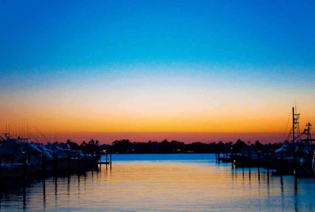 MAY Sunset at Sunset Bay Marina
