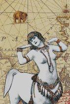"""""""Old World Female Centaur"""" Collage"""