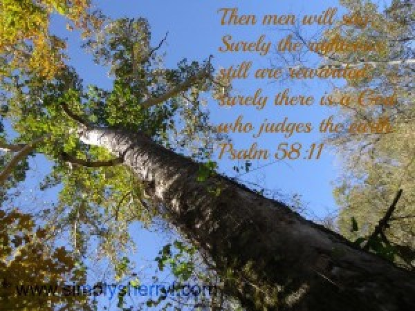 God Is In Control Psalm 58:11