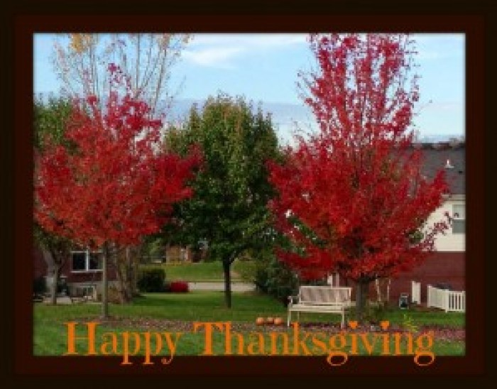 Happy Thanksgiving from SImplysherryl.com