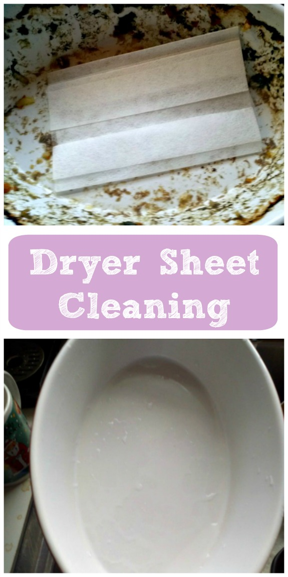 Dryer Sheet Cleaning